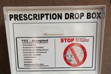 Drop Box for Prescriptions