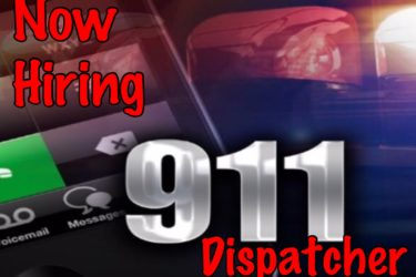 Accepting Applications for 911 Dispatcher